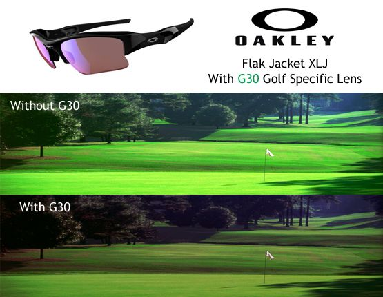 f2f444215b G30 Golf Sunglasses by Oakley - enhancing depth perception to let you read  the greens better!