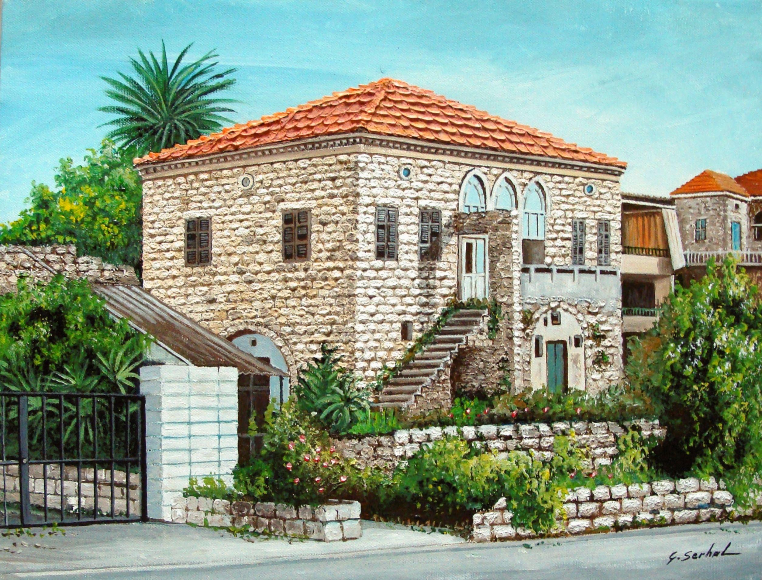 Deserted Lebanese House In Zouk Old Lebanon Architecture Pinterest Deserts Lebanon And House