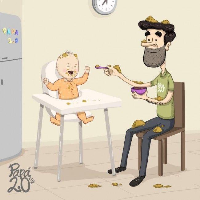 Así es la vida de una mamá y un papá primerizo