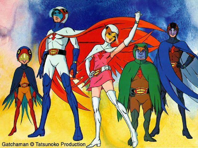 Los Mejores Dibujos Animados De Los 70 80 90 La época Dorada Battle Of The Planets Gatchaman 80s Cartoons