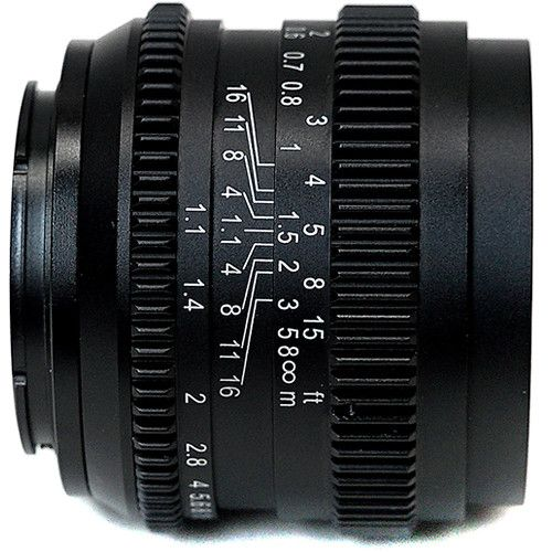 New Slr Magic Cine 50mm F 1 1 Budget Lens For Sony A7s A7s Ii A7r Ii And Sony Fs5 Sony Lens Lens Aperture