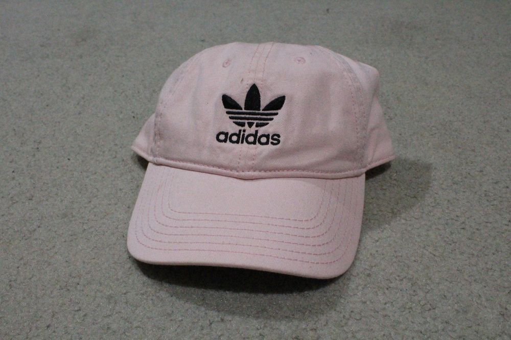 aef1993303797 Adidas Men s Originals Precurved Washed Strapback Hat   Cap Pink  fashion   clothing  shoes  accessories  mensaccessories  hats (ebay link)