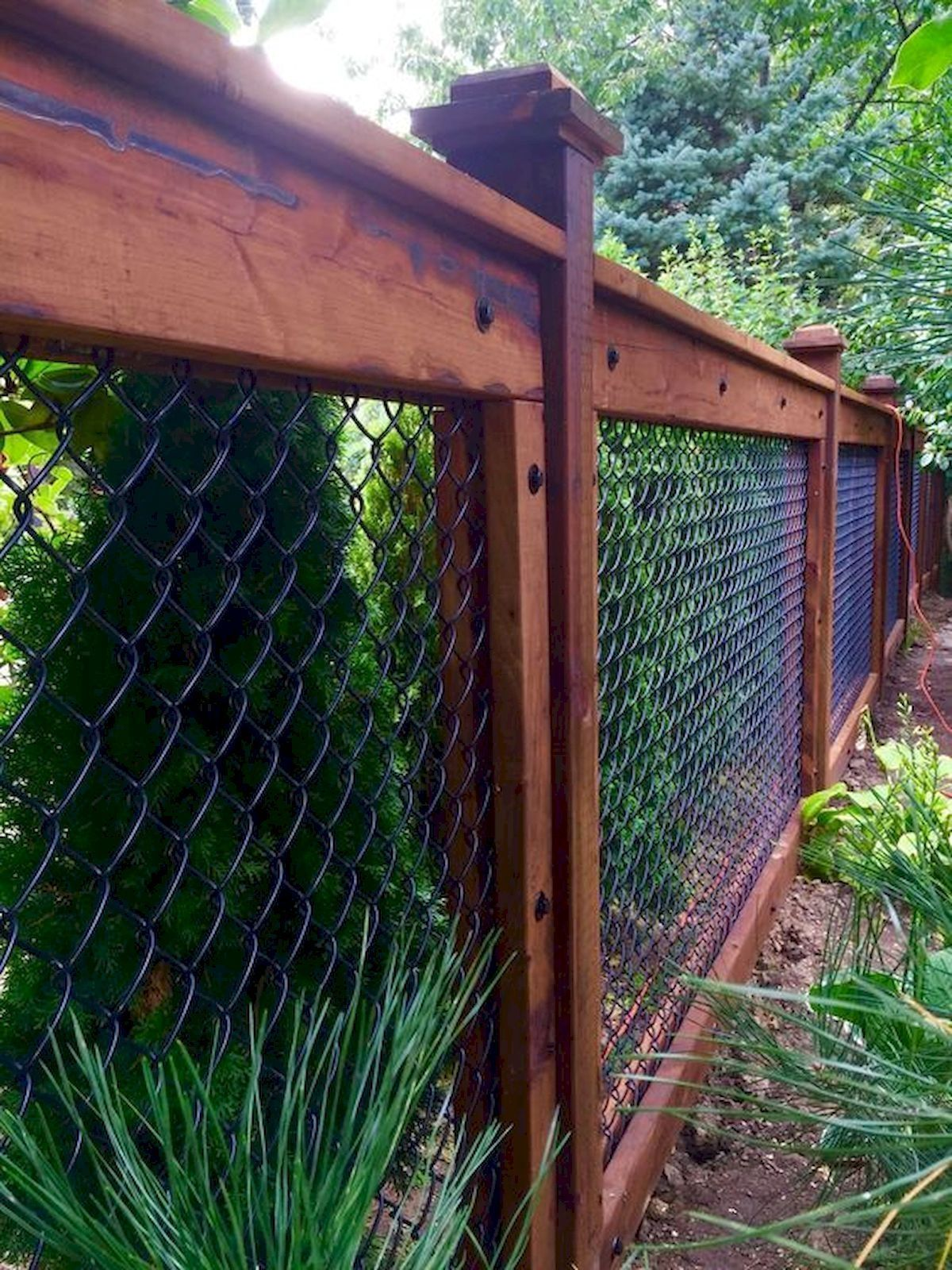30+ #Classy #Backyard #Garden #Ideas #With #Fence #Design - 30+ Classy Backyard Garden Ideas With Fence Design