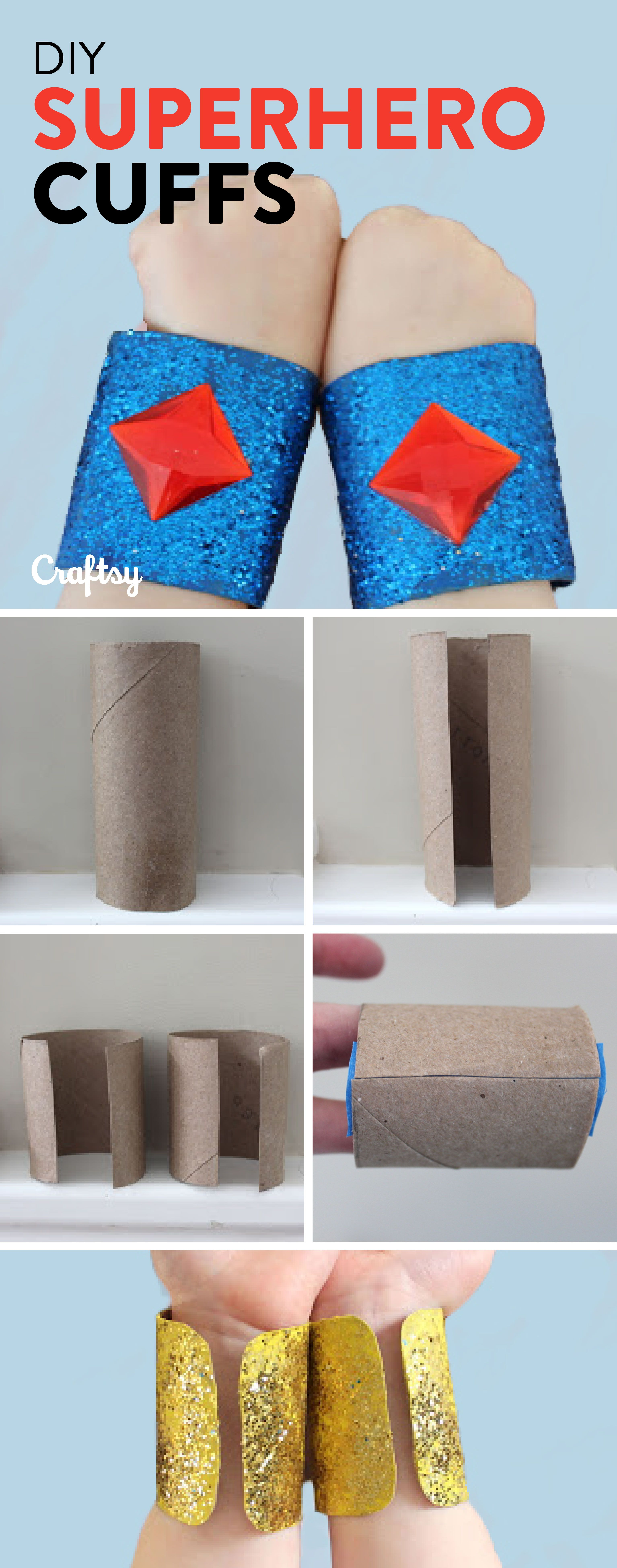 Family Superhero Craft Make This Easy Superhero Craft That Recycles