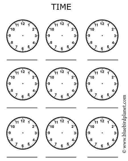 Free Printables For Kids Free Worksheets For Kids Clock Worksheets Kids Worksheets Printables