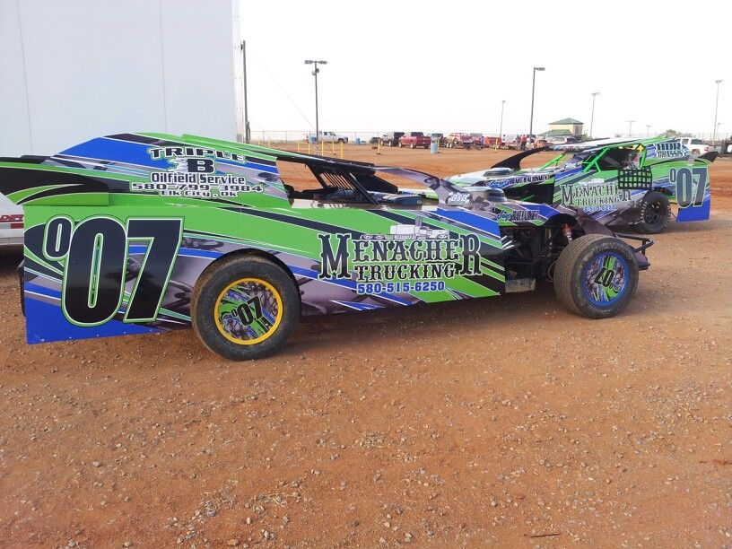 007 Harley Menacher Modified and Sport Mod Dirt track