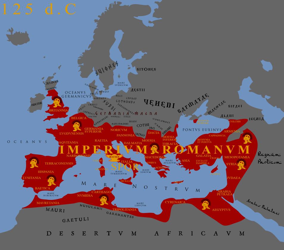 IMPERIVM ROMANVM Roman EmpireMapsRoman Pin by