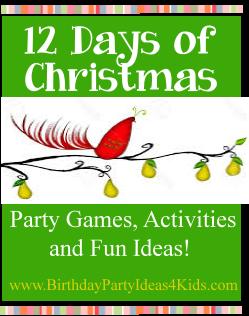 Christmas Rocking Rudolf Party Decor Favor Festive Game Scratch Trivia Cards