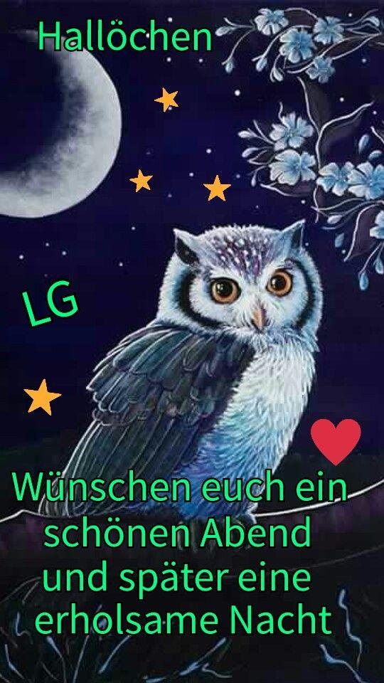 Pin von Annelore Reutter auf Gute Nacht | Gute nacht, Gute ...
