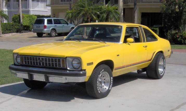 1977 Chevy Nova 4 Door