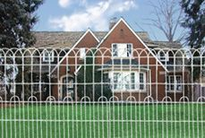 Hutchison: Ornamental Fence/ Woven Wire   Gardening & Yard Ideas ...