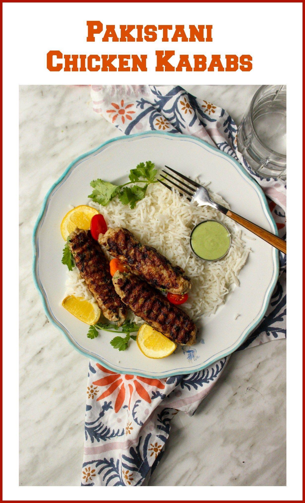Pakistani Chicken Kababs Pan Fried Recipe Indian Food Recipes Pakistani Food Food Inspiration