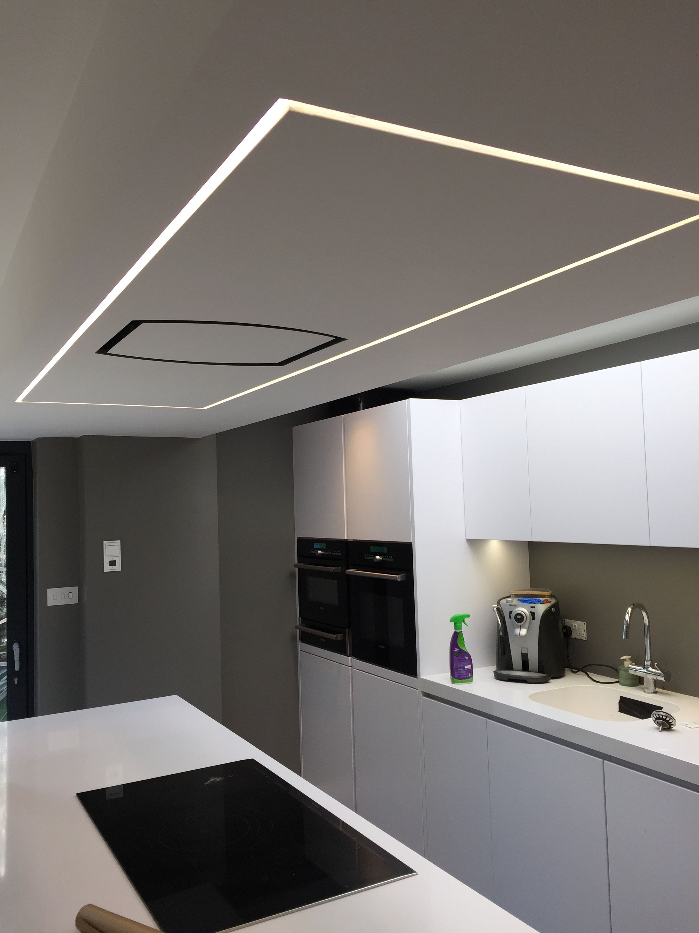 33 trimless concealed continuous led