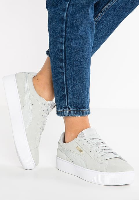 VIKKY PLATFORM Sneaker low grey violet in 2019 | Schuhe