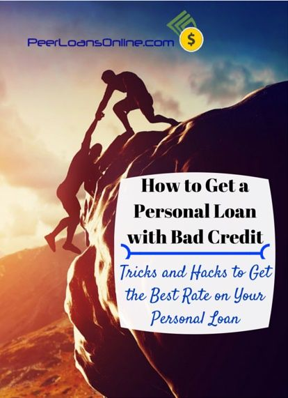 The Trick To Get A Personal Loan With Bad Credit Isn T Getting The Loan But Getting A Loan You Can Afford Find Loans For Bad Credit Personal Loans Bad Credit