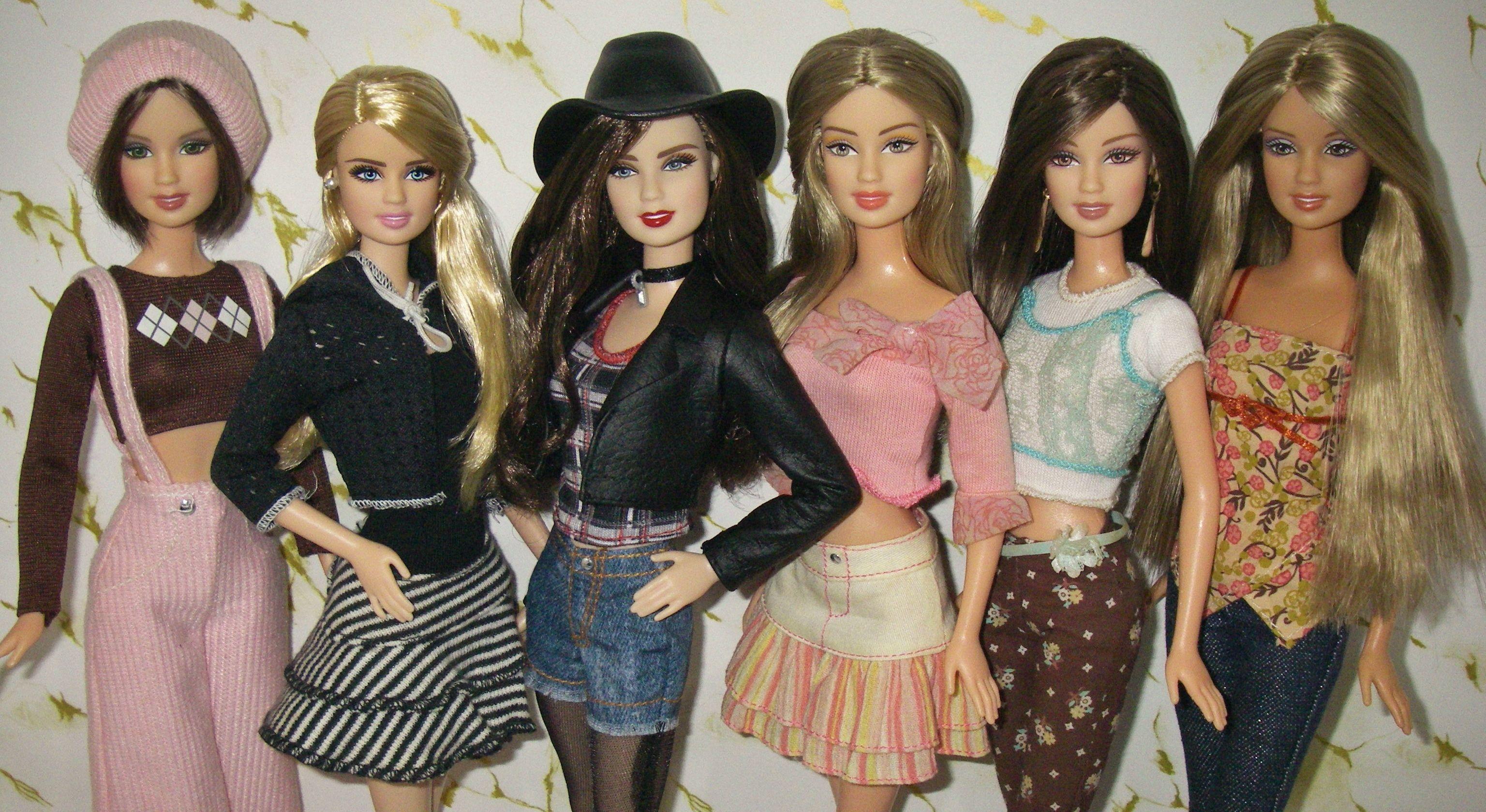 Barbie Face Teresa Ropa Y Accesorios Barbie