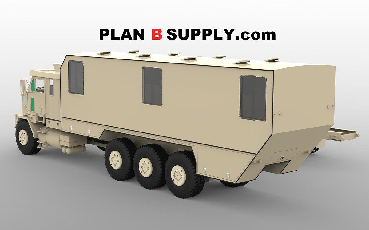 Oshkosh 8x8 M1070 Abrams Tank Hauler Heavy Duty Military Army