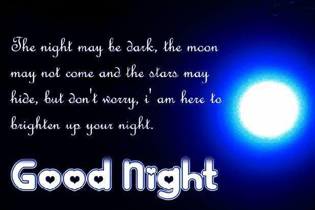 The Night May Be Dark