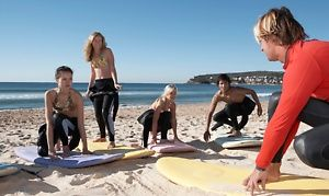 Groupon Surfing Or Standup Paddleboarding Lesson At Clint Carroll Surf School Up To