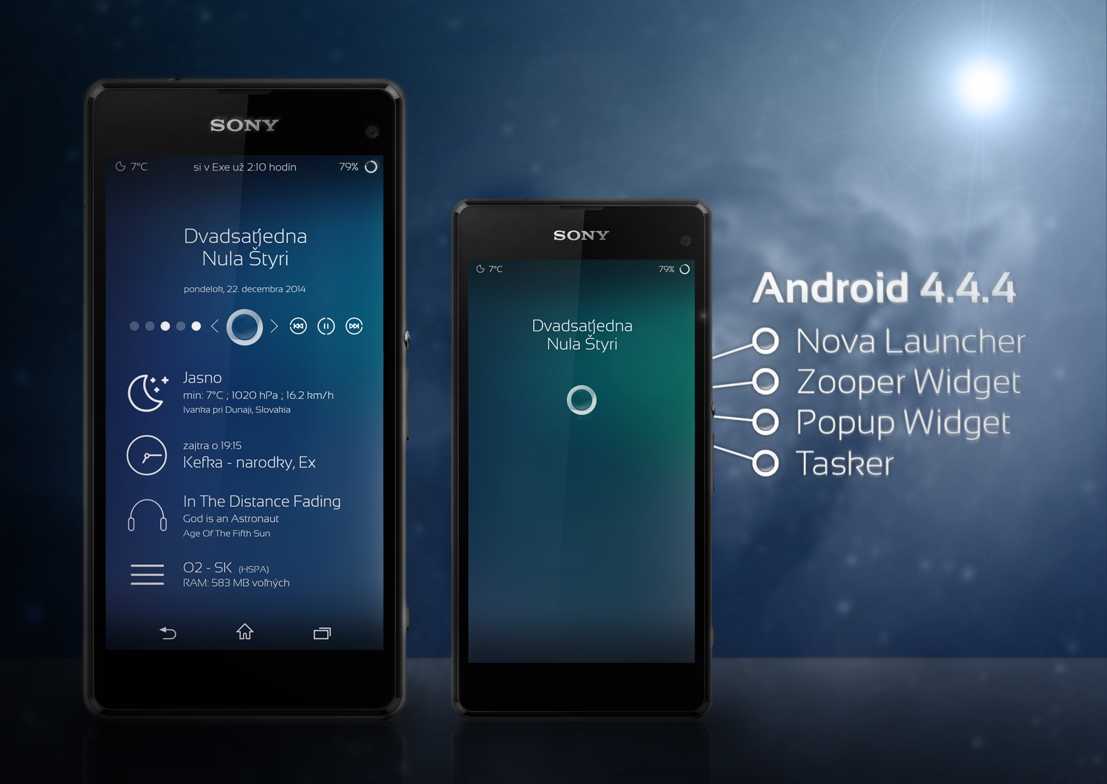 Blu12'd Android Homescreen