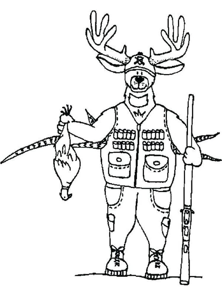 Free Printable Hunting Coloring Pages Pdf Below Is A Collection Of Hunting Coloring Page Which You Can Do Deer Coloring Pages Coloring Pages Dog Coloring Page