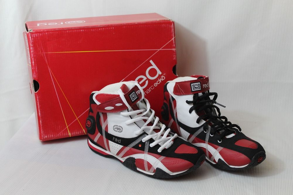 4fcdfc83138e ECKO RED Sports Shoes High Top - Youth Size 5 Red