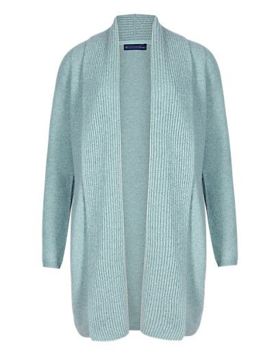 M&S cashmere £139 - this willow colour looks like my energy and I think I'd wear this long-line cardi a lot.
