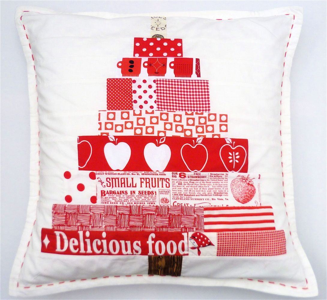Scandinavian Christmas Tree Cushion The Sewing Directory Scandinavian Christmas Trees Christmas Sewing Projects Christmas Tree Pillow