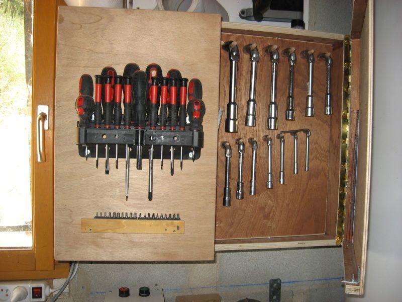 Agencement panneau à outils (avec images) | Outils, Rangement garage, Meuble atelier