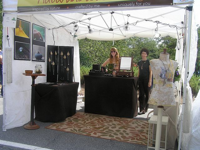 jewelry display ideas for outdoor craft shows - Google Search