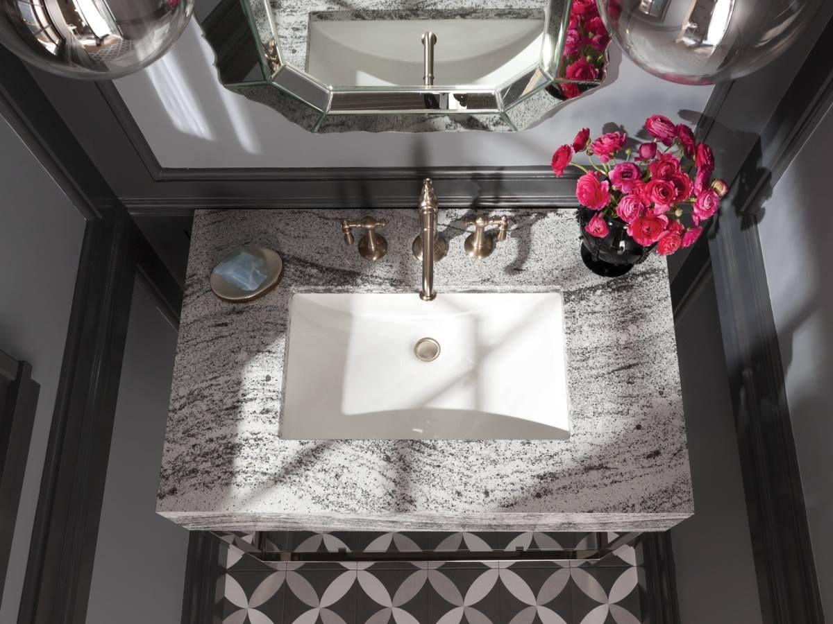 Cambria Roxwell Bathroom Sink Design Powder Room Sink