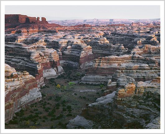 The Maze Overlook is a 235 mile out and back trail located near