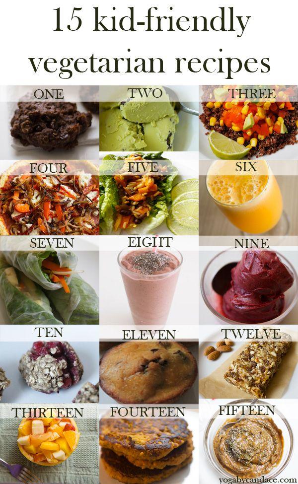 15 Kid Friendly Vegetarian Recipes Veggie Galore