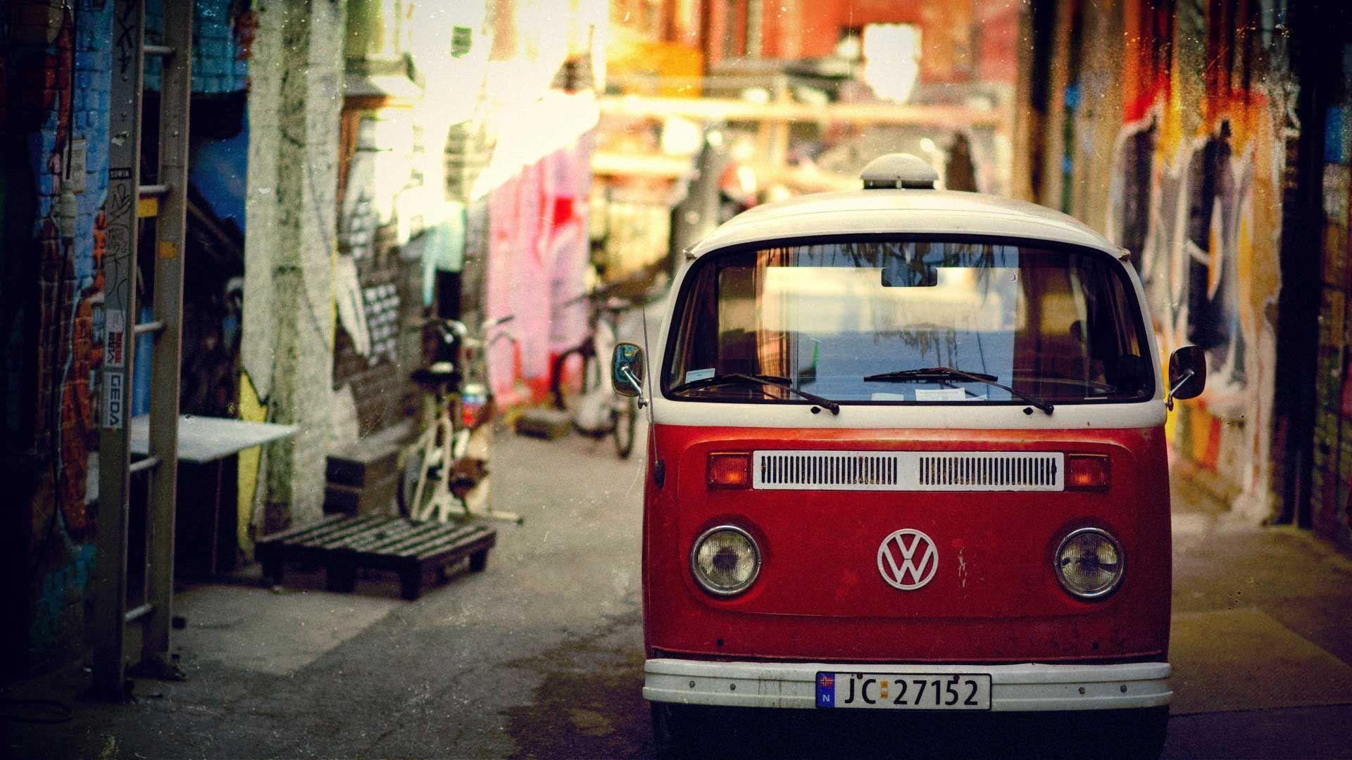 Classic Cars Wallpapers Hd Vintage Vw Bus Vintage Volkswagen Volkswagen Bus Hd wallpaper retro old volkswagen van