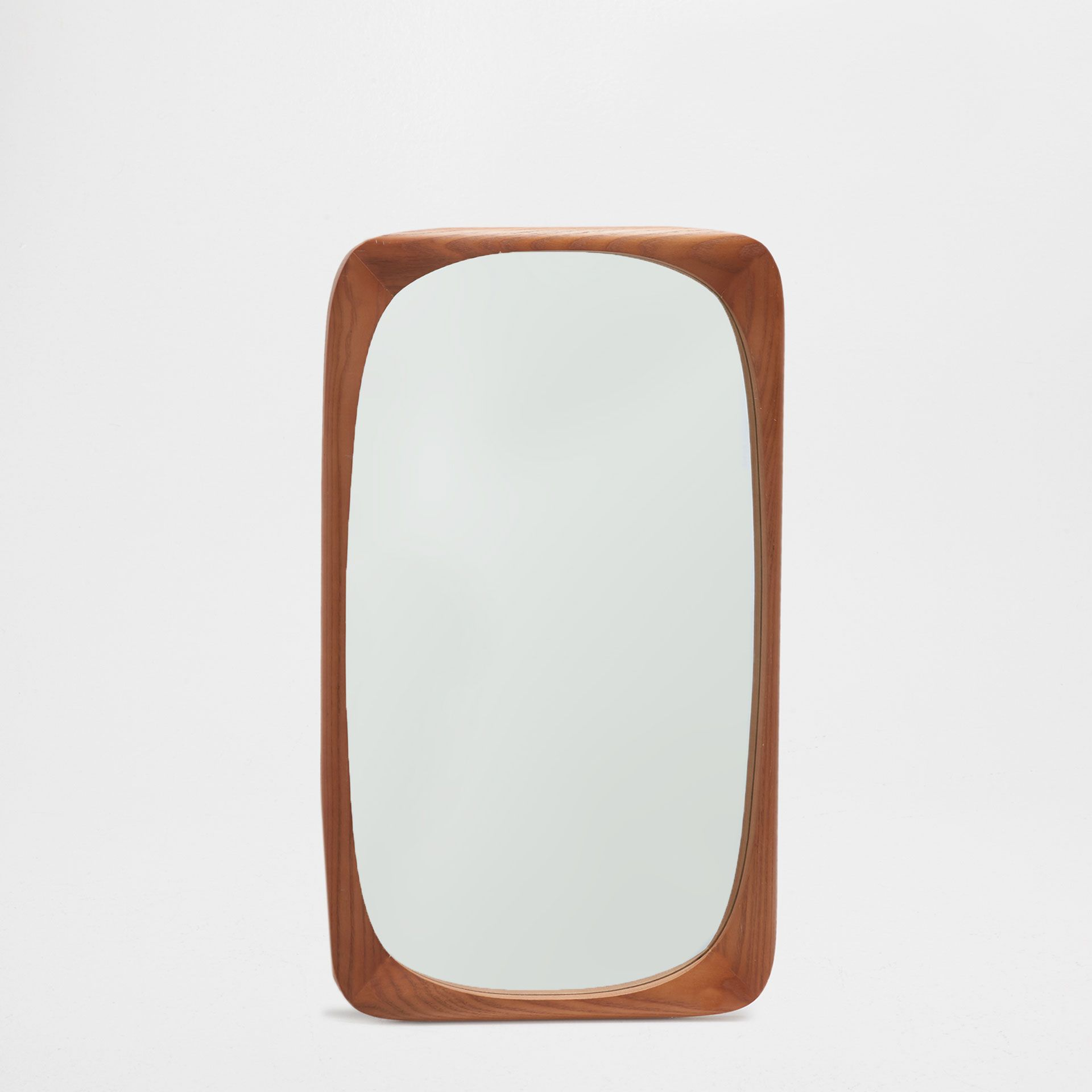 espejo rectangular irregular color natural para el sal n. Black Bedroom Furniture Sets. Home Design Ideas