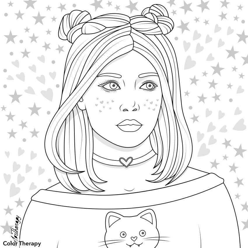Pin By Tayna Santos On Color Therapy Before After Coloring Book Art Coloring Book Pages Coloring Books