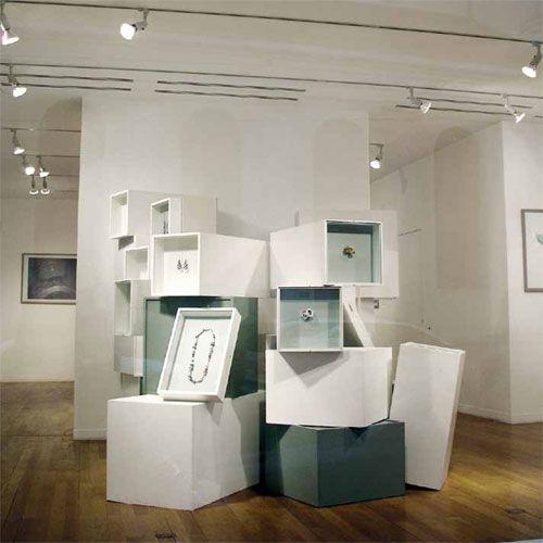 Jewelry Exhibition Booth Design : Klimt helen britton jewellery life design