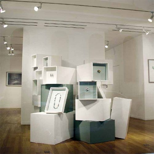 Jewellery Exhibition Booth Design : Klimt helen britton jewellery life design
