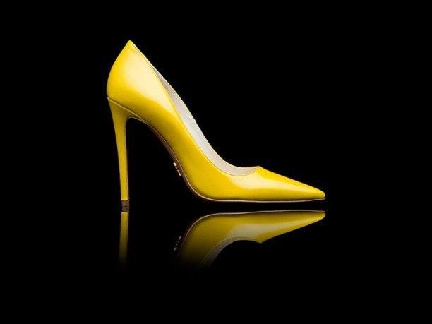 yellow  prada  highheels  fashion  shoes  cool  springsummer   springsummer2013  2013 29146fd58eb