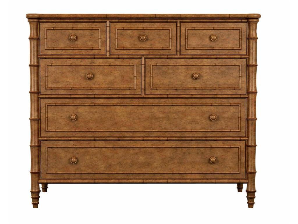 drexel bedroom set%0A Drexel Heritage bamboo chest hickoryfurniture com