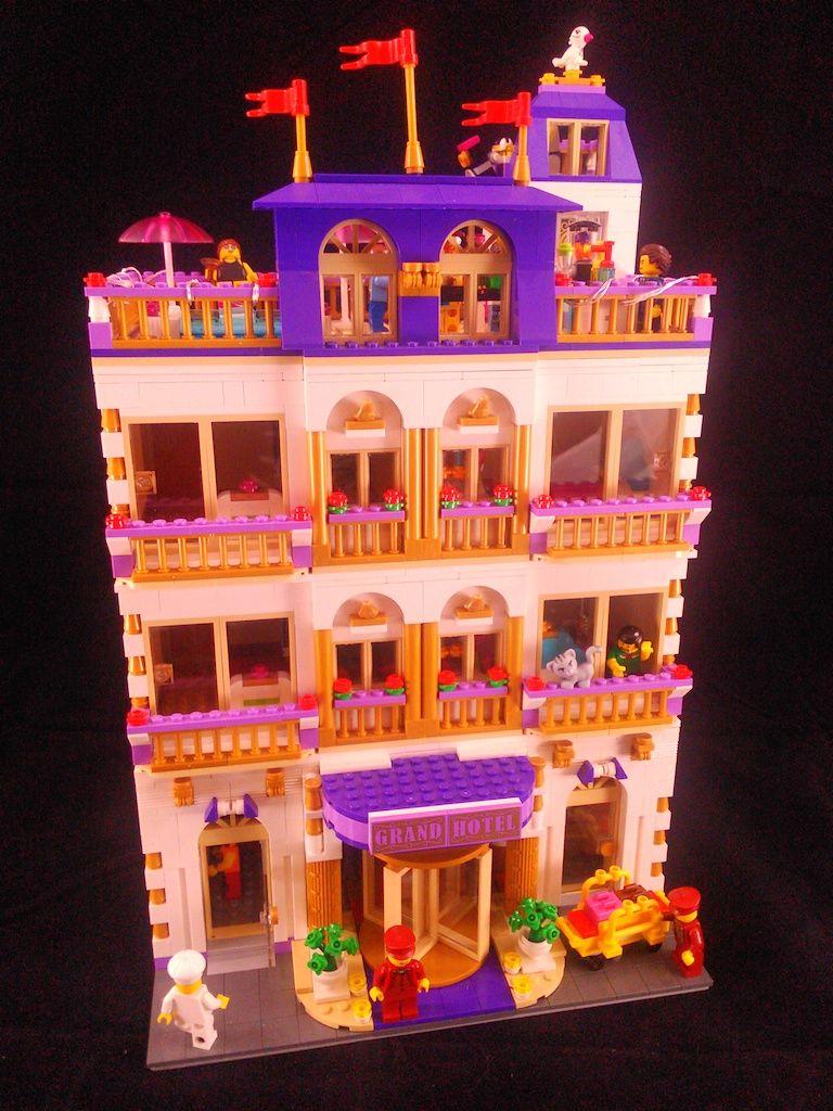 Lego Grand Hotel Legos Lego Friends Lego Modular