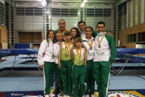 11 medallas logró Risaralda en nacional de Trampolinismo