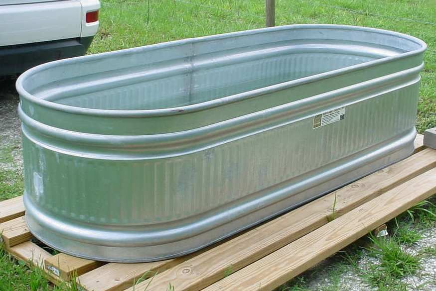 Galvanized Water Troughs And Tanks For Water Storage Water
