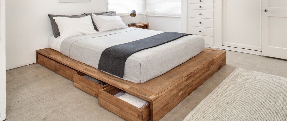 Storage Bed Cama De Casal Rustica Camas Estofadas E Ideias De Cama