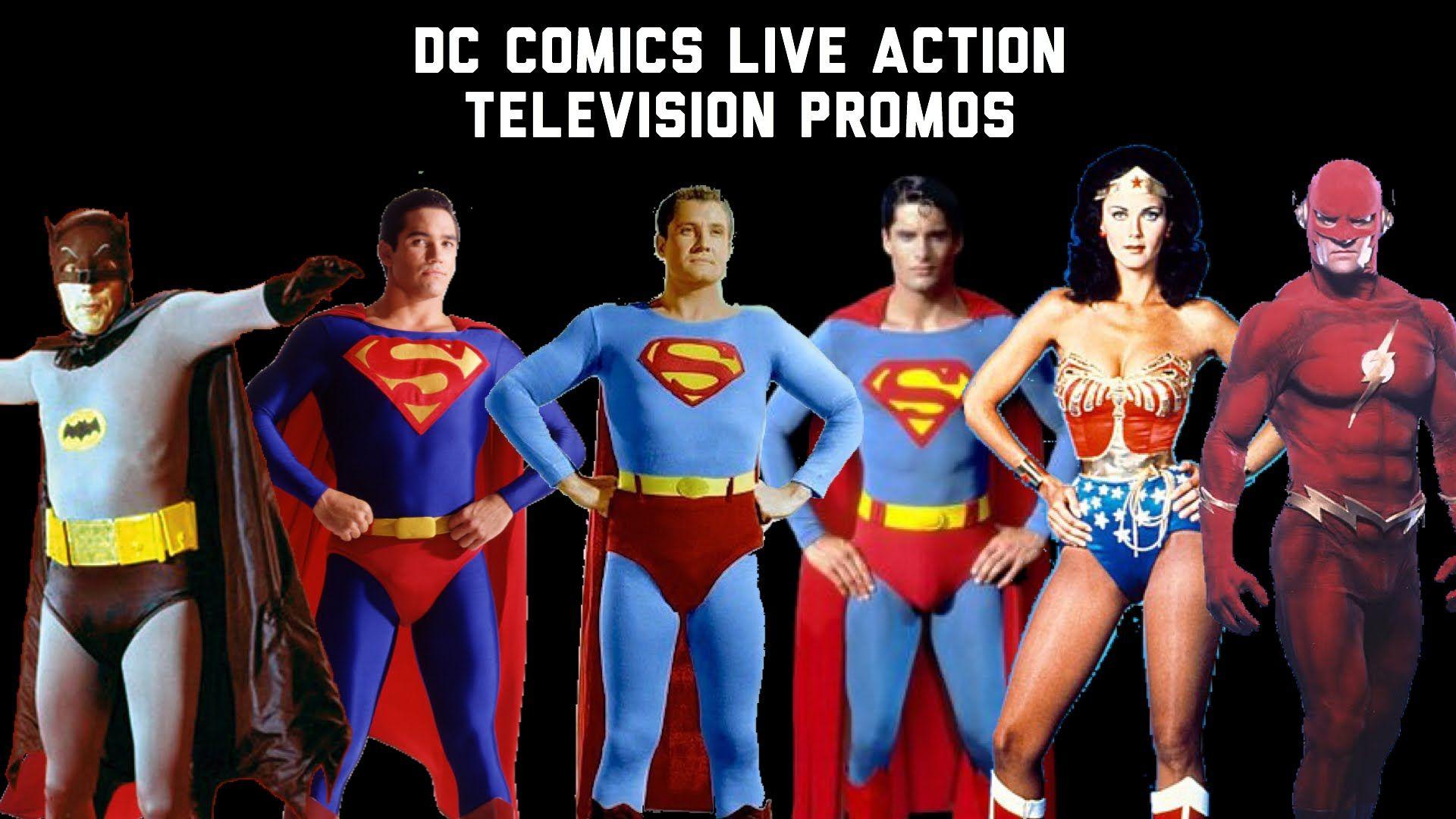 DC Comics Live Action Television Promos