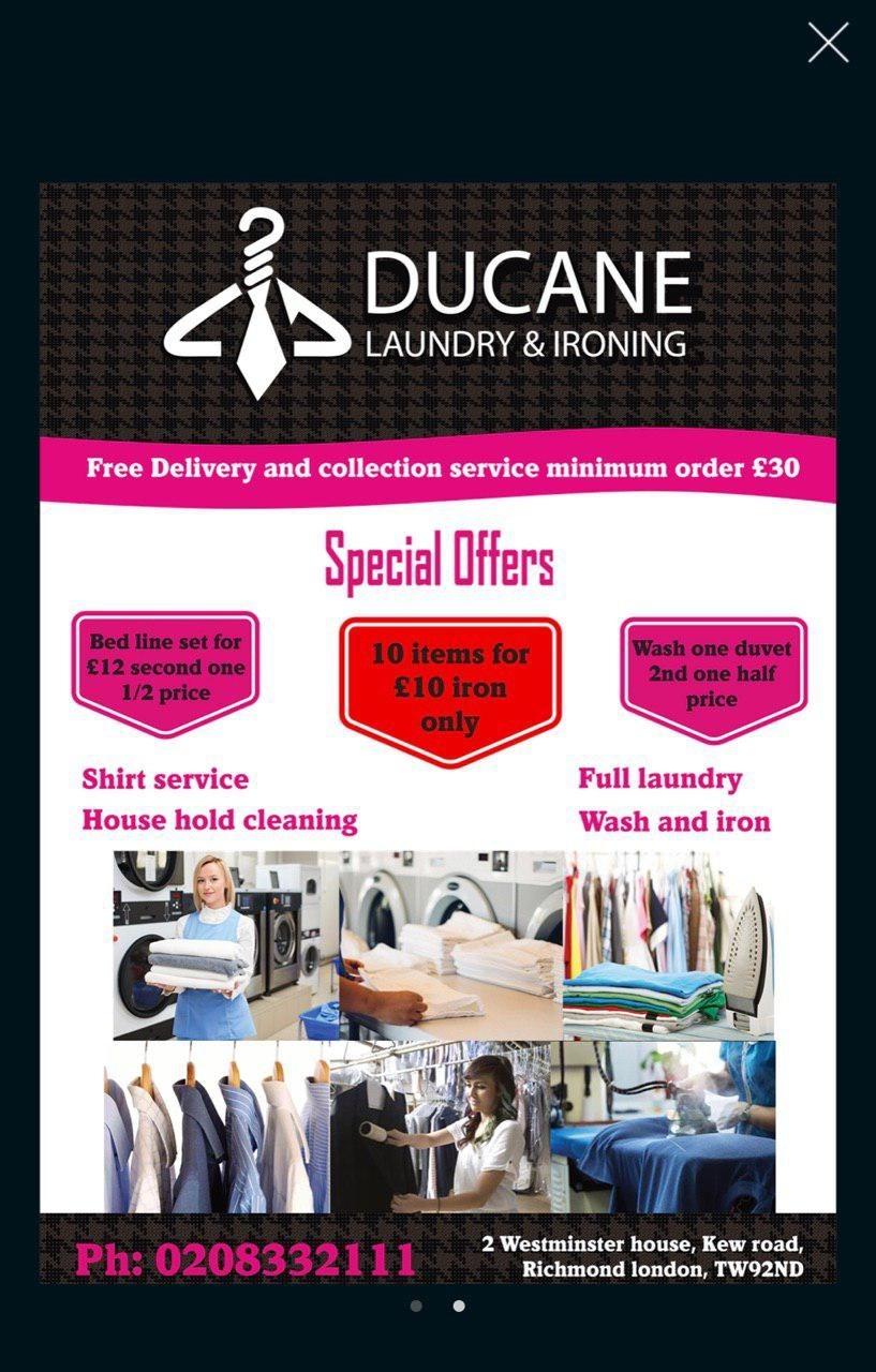 Ducane dry cleaners london dry cleaning services dry