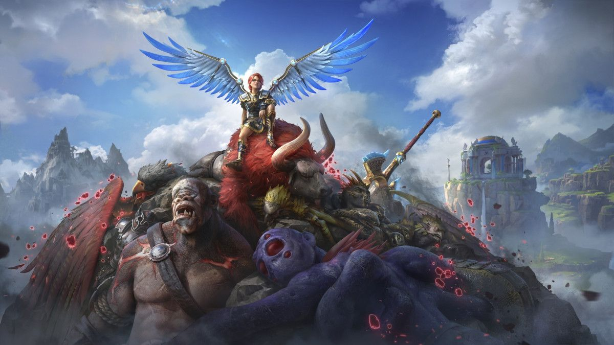 Immortals Fenyx Rising Soars Onto Xbox Series X S And Xbox One In 2021 Immortal Ghost Soldiers Chinese Mythology Immortals fenyx rising full hd wallpaper