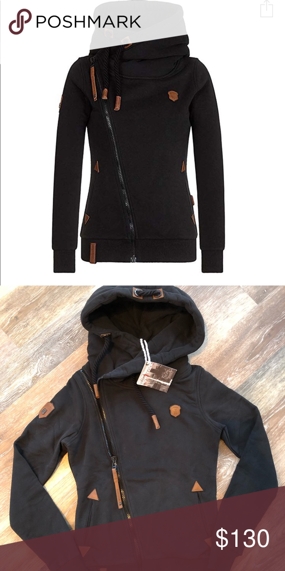 NWT Naketano Zip up Jacket NWT