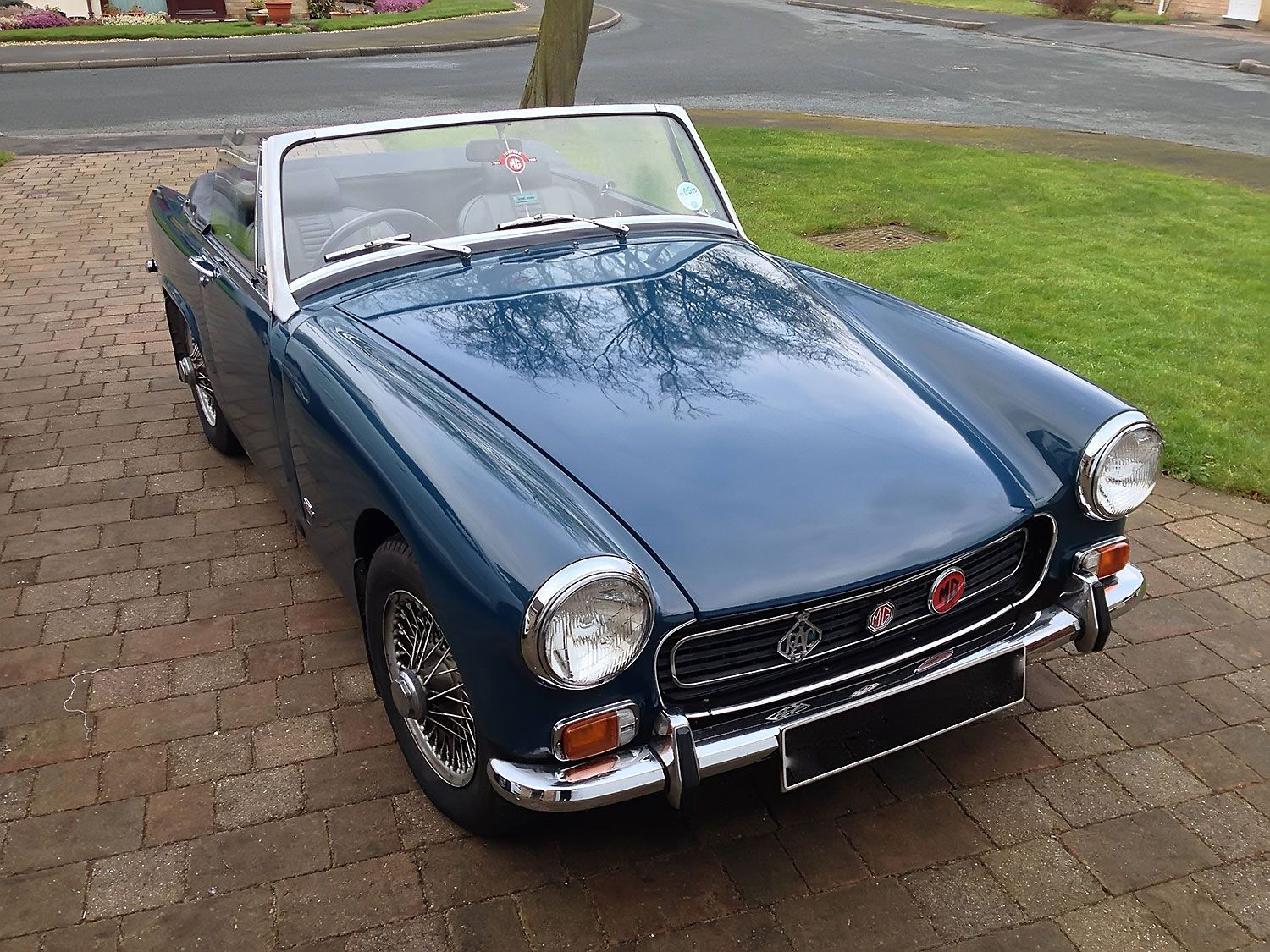 Classic MG Midget classic car for sale from KAD Classics ...