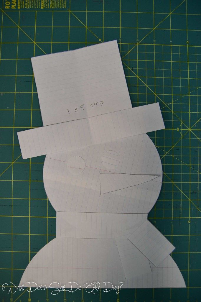 Appliqued Snowman Table Runner #tutorial #pattern #sewing #applique ...